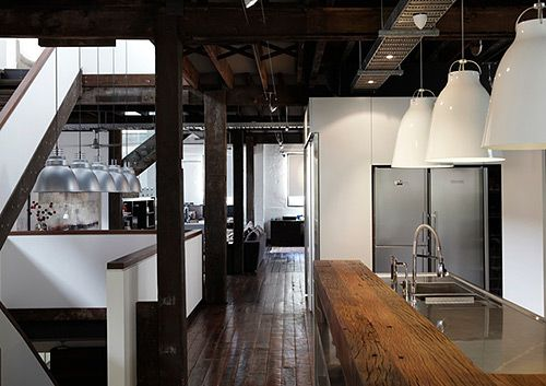 A warehouse conversion in Sydney by interior design firm Hare & Klein. Image - Jenni Hare.  Meryl Hare is profiled on the Temple & Webster blog as part of David Clark's Edit of Australia's top interior designers.