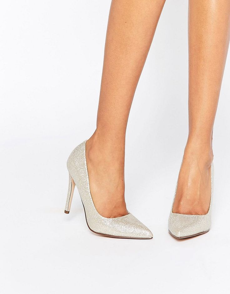 Image 1 ofCall It Spring Coola Gold Court Shoes