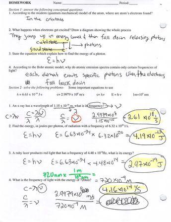 Homework help high school chemistry