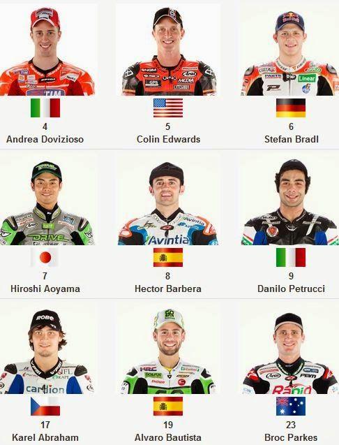 Jadwal MotoGP 2014 Trans 7 dan Foto-foto Pembalap