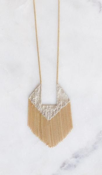 Hannah Keefe Squared Pendant