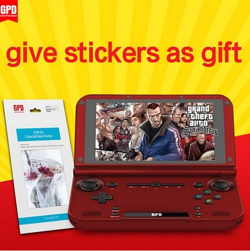 190.40$  Know more - http://ai6md.worlditems.win/all/product.php?id=32541771502 - GPD XD RK3288 Quad Core 2G/64G 5' IPS Handheld Game Console Video Game Play PS game tablet handheld video game Android Gamepad