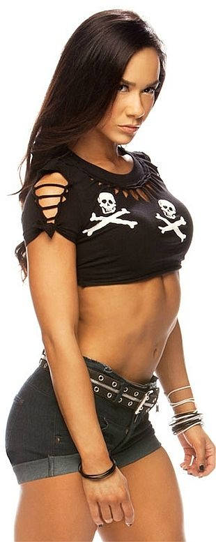 WWE Diva.... I love evil woman maybe that's y me n the wifey together still short n evil as well