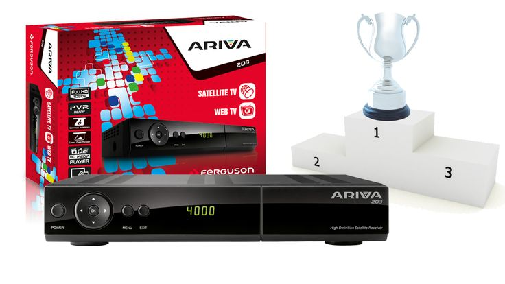 Dekodery Ariva na szczytach rankingu najlepszych odbiorników TV-SAT
