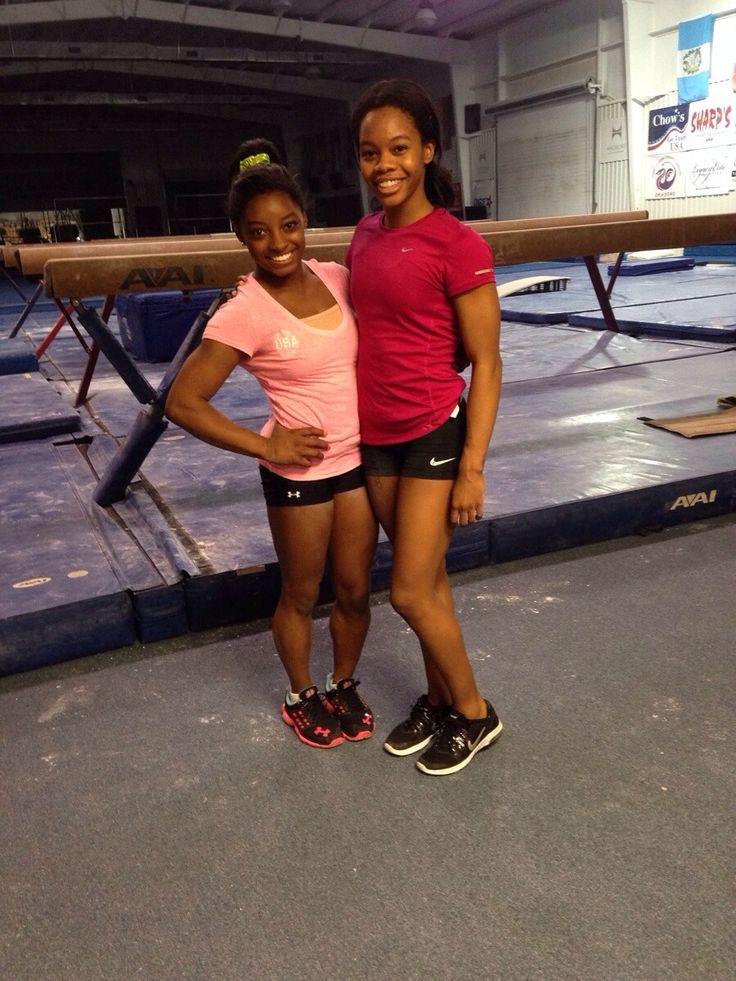 Gabby Douglas and Simone biles my two favourite gymnasts (McKayla Maroney is my other favourite)