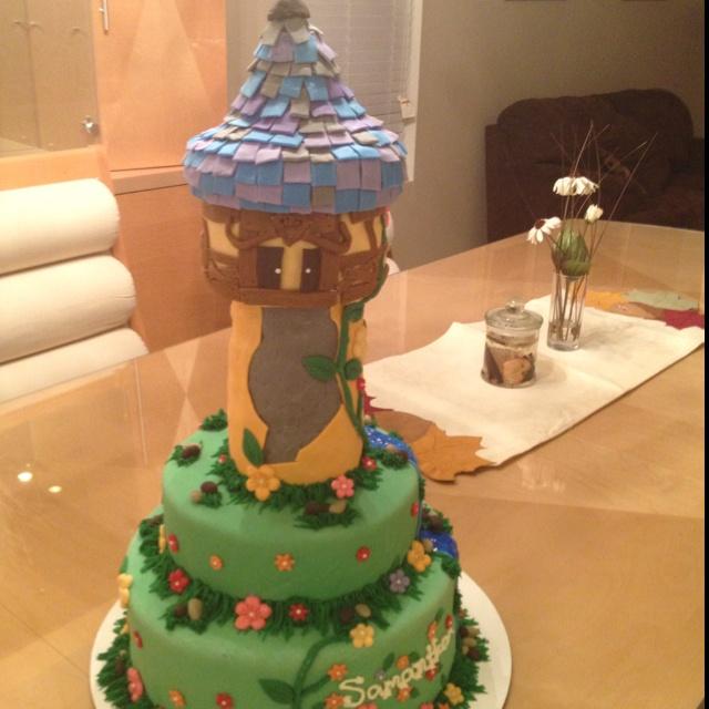 Repunzel cake