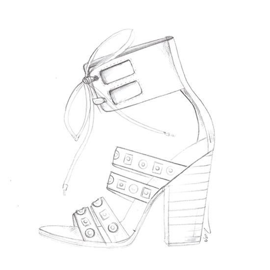 New #shoe sketches on pinterest... 2014