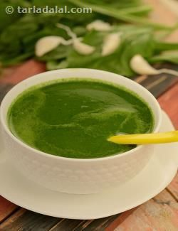 This nourishing spinach soup is low in calories but retains all the essential nutrients. Try your culinary skills in cooking this version of spinach soup and i bet you'll be proud and glad you did it.