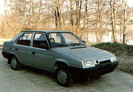 OG | Škoda Favorit Sedan | Prototype designed by Bertone