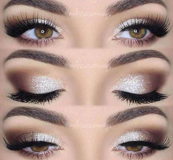 Hochzeits Make-up für braune Augen 15 besten Foto…