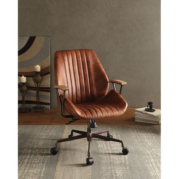 Dejuan Genuine Leather Task Chair Office Chair Design Home Office Chairs Best Office Chair