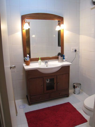 17 best images about narrow bathrooms on pinterest - Narrow bathroom sinks and vanities ...