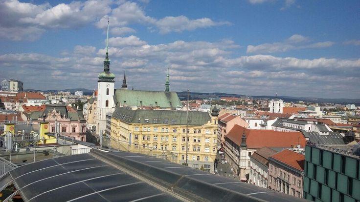 Brno - výhled z Domu pánů z Lipé