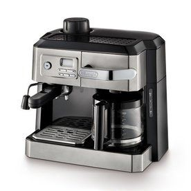 Delonghi Stainless Steel Automatic Programmable Espresso Machine Bco330t