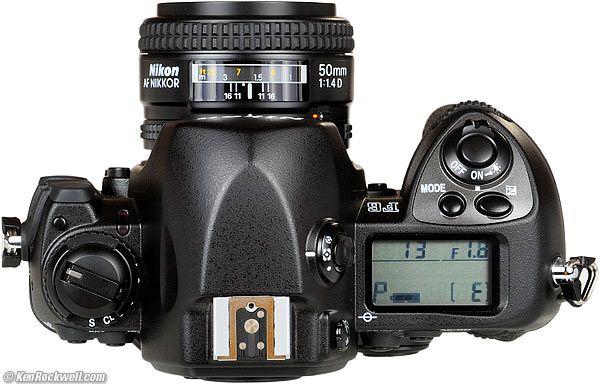 Top, Nikon F6