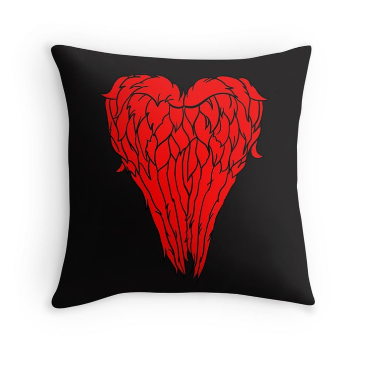 Daryl Dixon Wings - Heart Design. Available in various products. Click to check it out.