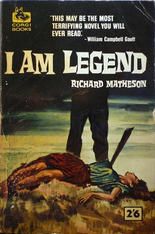 I Am Legend by Richard Matheson. One of the best books I 've ever read.....