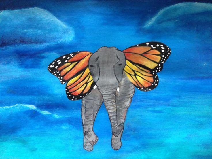 Joy Song Year 10 Surrealism Painting