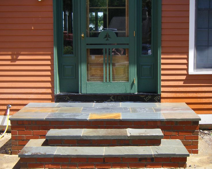 3 ideas for building steps with brick stone stairs for Brick steps design ideas