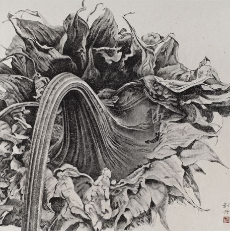 Liu Dan | ink and brush drawing | contemporary