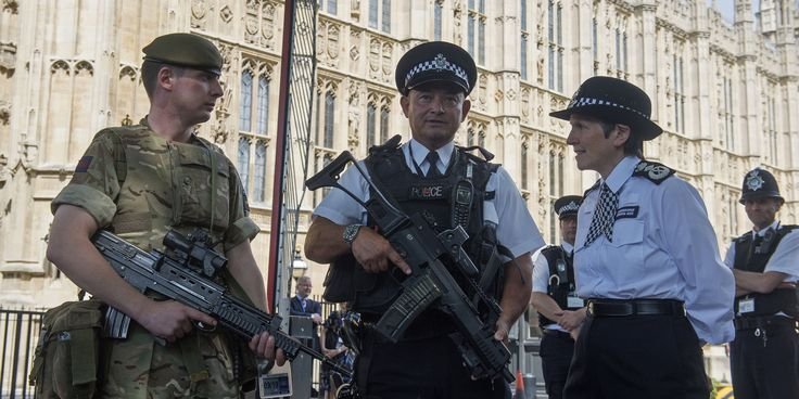 (PA WIRE/PA IMAGES) UK Terror Threat Level Reduced From Critical To Severe, Prime Minister Announces The military will continue to be deployed to key sites until the end of the bank holiday.The threat level has been reduced from critical, back to severe, the Prime Minister said on Saturday, but soldiers will continue to police key sits until the end of the bank holiday weekend