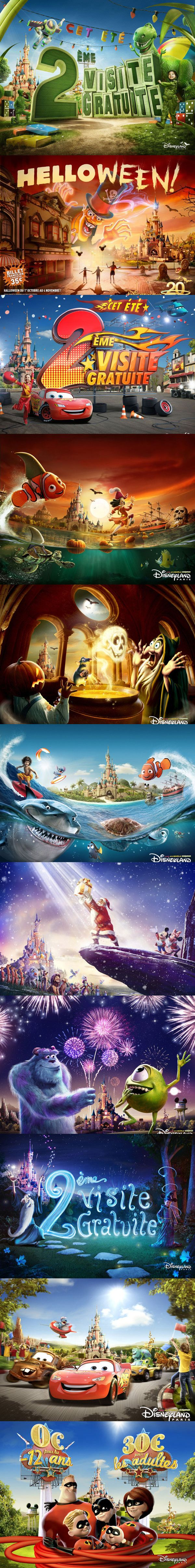 迪士尼广告宣传活动