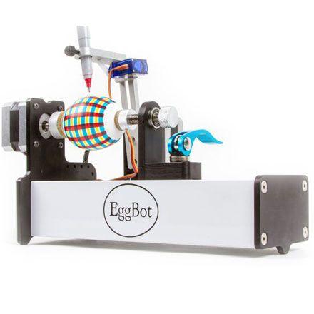 3D-плоттер Egg-Bot Pro для разрисовывания сферических объектов (яиц, шаров, мячей)