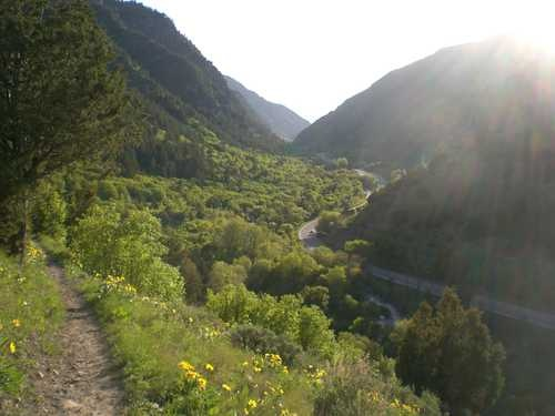 Map Gorge River Columbia Scenic Byway