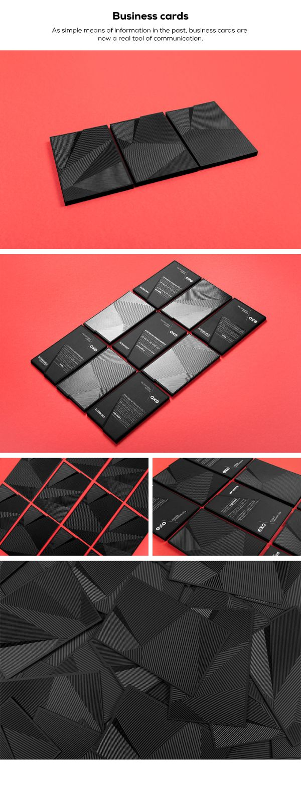 biz card / EXO by Murmure
