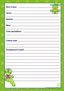 Читательский дневник иду в 3 класс шаповалова ответы бесплатно