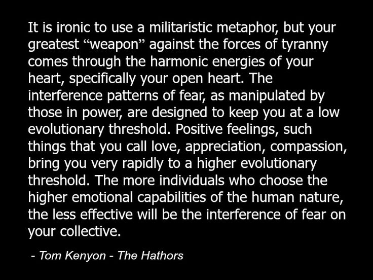 Tom Kenyon - The Hathors - Quote - Fear - Collective Consciousness Spirituality Spiritual 2.jpg
