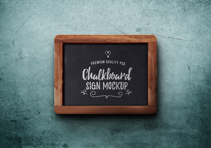 858 best images about mock up on pinterest free macbook pro free notebook and psd templates for Chalkboard sign templates
