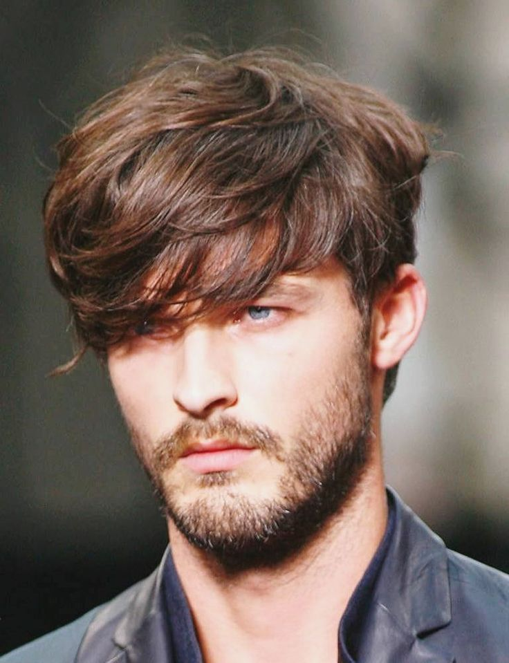 Medium Straight Hairstyles For Guys : 500 best hairstyles for men images on pinterest