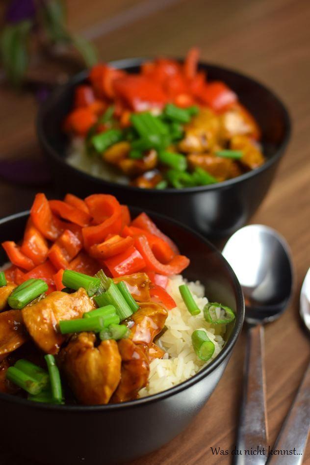 Chicken Teriyaki - alle kennen es, niemand traut sich es selbst zu kochen. Dabei ist es überhaupt nicht schwer und auch schnell zubereitet.