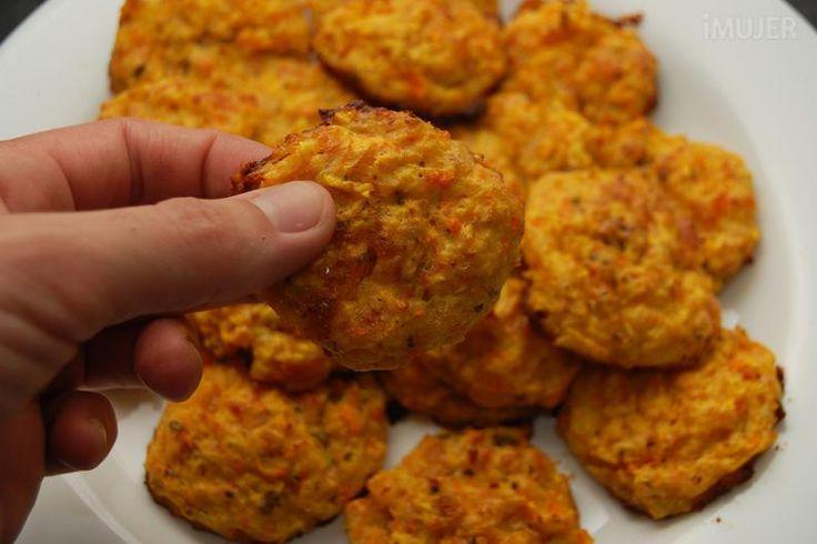 Buñuelos de calabaza y zanahoria al horno 6
