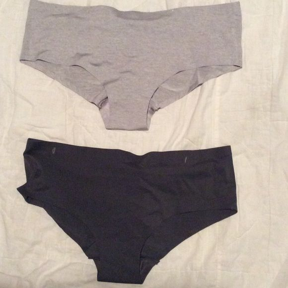 NEW! Prima Valentina women's no-line panties Two pairs of no line panties. One light grey. One dark grey. Scrunched back. Prima Valentina Intimates & Sleepwear Panties