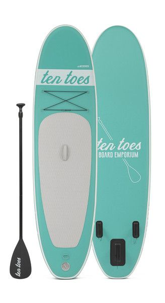 Ten Toes Board Emporium - theWEEKENDER 10' Inflatable Standup Paddle Board , Ten Toes Board Emporium - 16