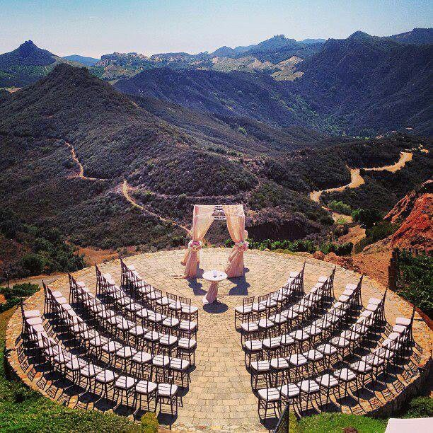 Love the ceremony seating formation