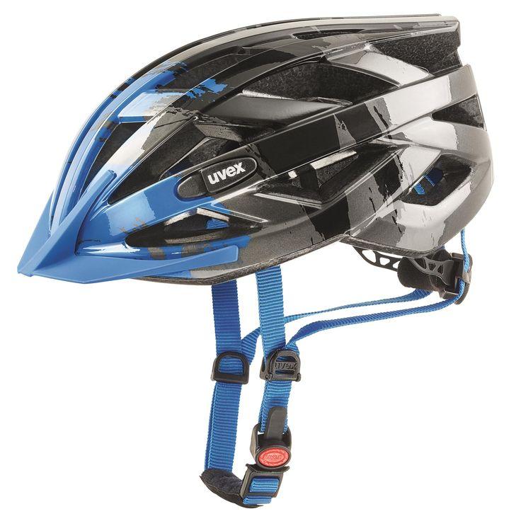 Doorout Angebote Uvex i-vo c Fahrradhelm dark-silver blue Gr. 52-57cm: Category: Outdoorsports > Helme und Brillen Item…%#Quickberater%