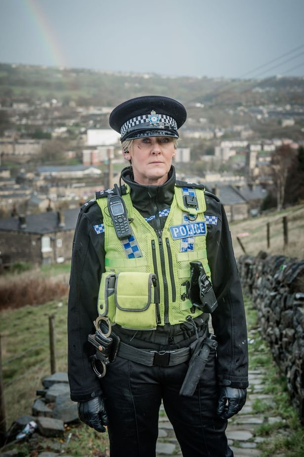 Happy Valley: Sgt Catherine Cawood, played by Sarah Lancashire