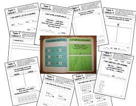 Mr. First Grade: EnVision Math Journals