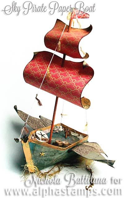 Alpha Stamps News » Pirate Ships and China Dolls (+ Related Giveaway & FREE Kit)