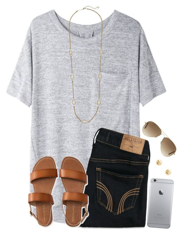 """~find me where the Wild Things are~"" by twaayy ❤ liked on Polyvore featuring rag & bone/JEAN, Hollister Co., Aéropostale, Kendra Scott, Ray-Ban and Charlotte Russe"