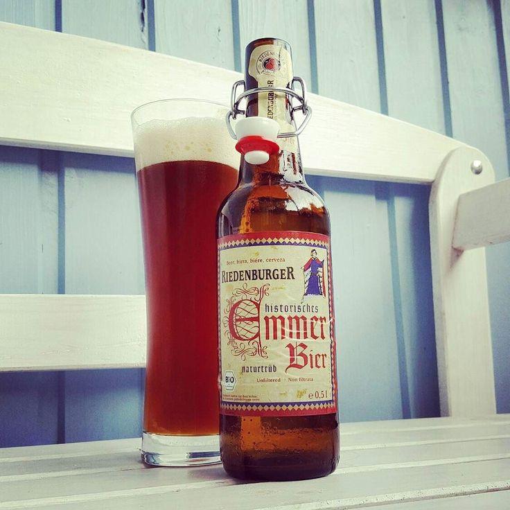 Riedenburger Emmerbier #craftbeer #kiel #emmer #bier #riedenburg #riedenburger #beerlove #beerporn #beerstagram #instabeer #cheers #prost #craftbeerkiel #craftbeerlife