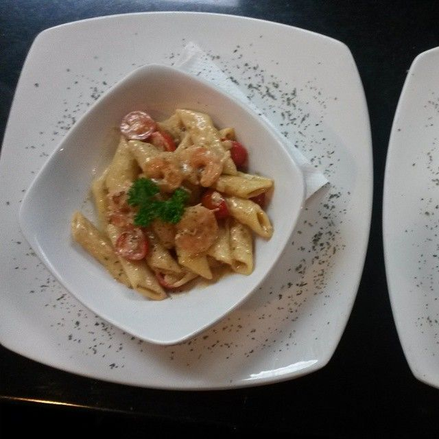 Try our Pasta Gamberi today!