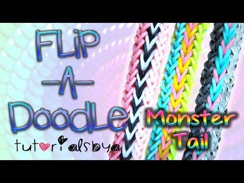 1000+ images about Rainbow Loom on Pinterest | Loom, Monster tail ...