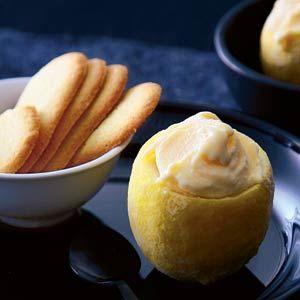 Recept - Citroen gevuld met citroenijs - Allerhande