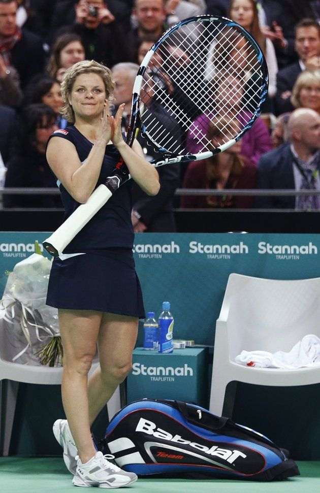 #Clijsters Says Farewell at Hometown Exhibition