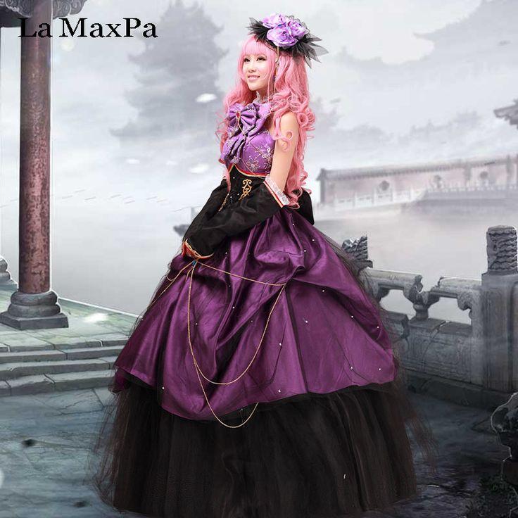 Pas cher La maxpa vocaloid luka de mariage dress cosplay vêtements japonais  anime costume filles femmes