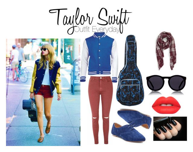 """""""Taylor's Everyday Outfit mixed with Hijab"""" by nabillasyarah on Polyvore featuring Glamorous, Steve Madden, Sole Society, Le Specs, Lime Crime, WhatToWear, Howtostyle and hijabstyle"""